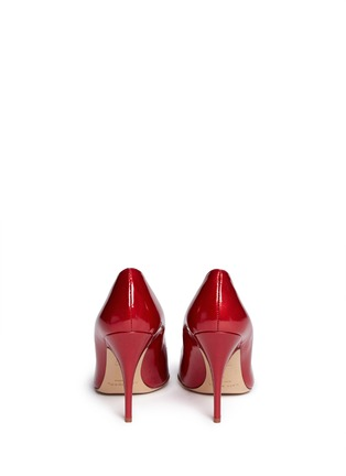 Back View - Click To Enlarge - Kate Spade - 'Laylee' jewel patent leather pumps