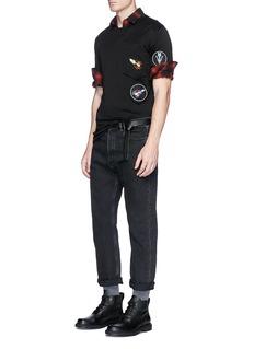 Lanvin Arrow appliqué T-shirt