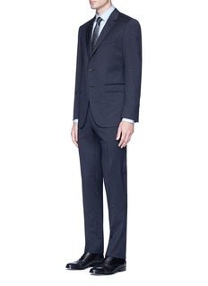 Lanvin 'Attitude' stripe wool suit
