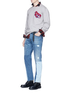Lanvin Assorted appliqué sweatshirt