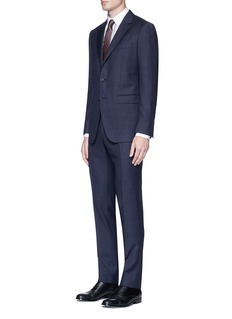 Lanvin 'Attitude' check plaid suit