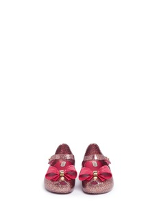 Melissa 'Ultragirl VIII' glitter PVC Mary Jane toddler flats