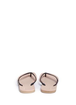 Back View - Click To Enlarge - Melissa - x Ipanema colourblock flip flops