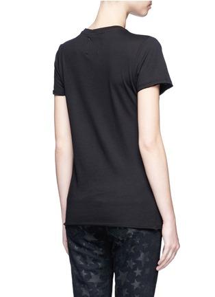 Back View - Click To Enlarge - Zoe Karssen - 'Rock 'n Roll' slogan print cotton-modal T-shirt