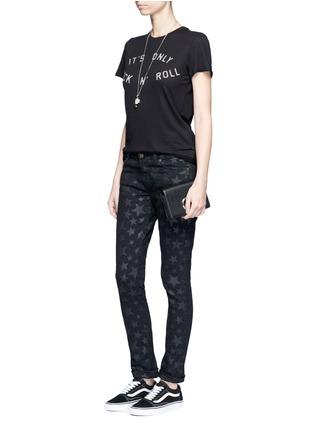 Figure View - Click To Enlarge - Zoe Karssen - 'Rock 'n Roll' slogan print cotton-modal T-shirt