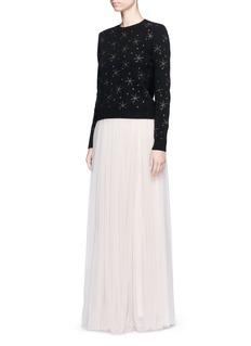 Needle & ThreadLayered tulle maxi skirt