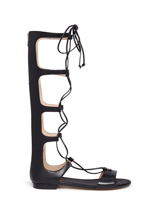 Main View - Click To Enlarge - Michael Kors - 'Sofia' leather gladiator sandals