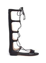 'Sofia' leather gladiator sandals