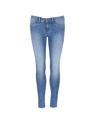 Main View - Click To Enlarge - Denham - 'Spray' active denim skinny jeans