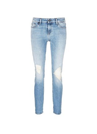 Main View - Click To Enlarge - Denham - 'Monroe' distressed jeans