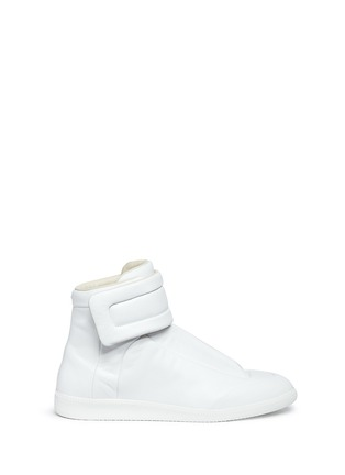 Main View - Click To Enlarge - MAISON MARGIELA SHOES - 'Future' high top leather sneakers