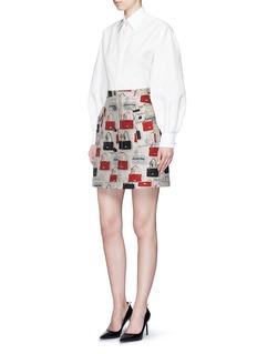 LANVINHandbag jacquard skirt