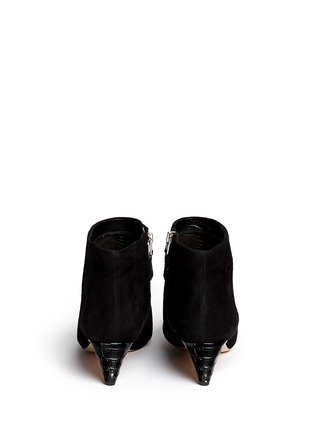 Back View - Click To Enlarge - Sam Edelman - 'Lucy' suede ankle boots