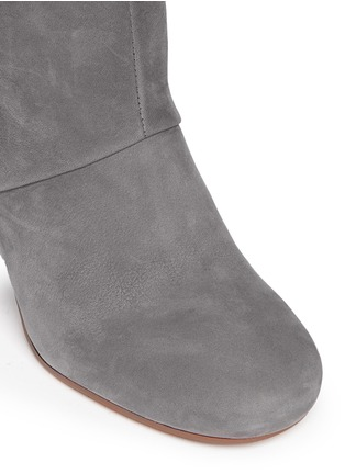 Detail View - Click To Enlarge - Sam Edelman - 'Taylan' fringe suede knee high boots