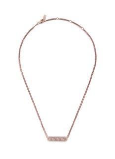 Messika'Move Pavé' diamond 18k rose gold necklace