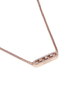 Messika 'Move Pavé' diamond 18k rose gold necklace