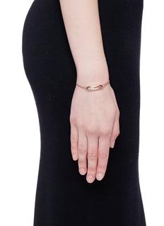 Messika'Move' diamond 18k rose gold bracelet