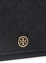 'Robinson' saffiano leather chain wallet