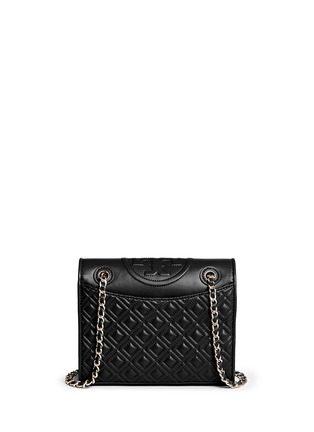 Back View - Click To Enlarge - Tory Burch - 'Fleming' medium quilted leather bag