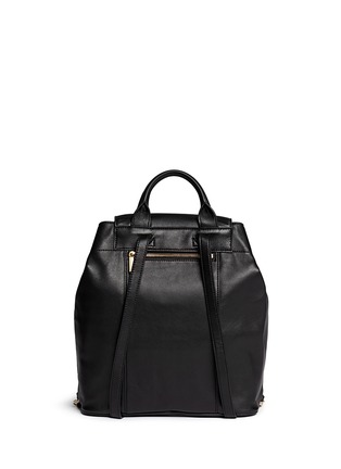Back View - Click To Enlarge - Tory Burch - 'Marion' quilted leather backpack
