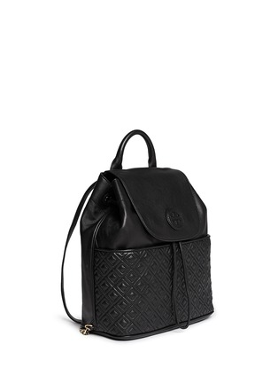 Figure View - Click To Enlarge - Tory Burch - 'Marion' quilted leather backpack