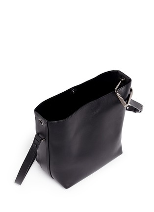 Detail View - Click To Enlarge - 3.1 Phillip Lim - 'Quill' mini leather bucket bag