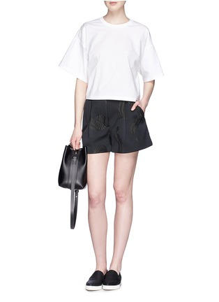 - 3.1 Phillip Lim - 'Quill' mini leather bucket bag