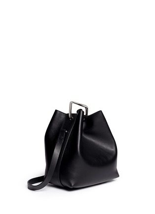 Back View - Click To Enlarge - 3.1 Phillip Lim - 'Quill' mini leather bucket bag
