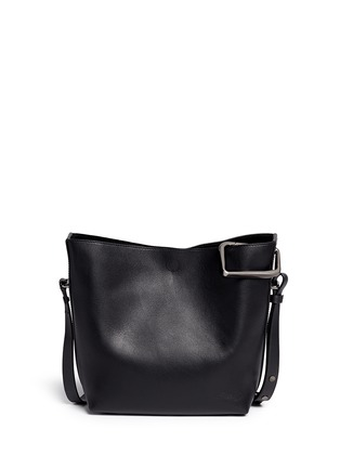 Front View - Click To Enlarge - 3.1 Phillip Lim - 'Quill' mini leather bucket bag