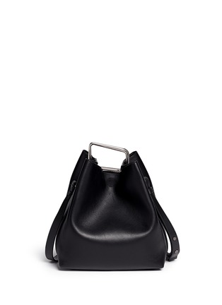 Main View - Click To Enlarge - 3.1 Phillip Lim - 'Quill' mini leather bucket bag