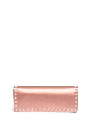 Figure View - Click To Enlarge - Valentino - Rockstud Bal crystal pavé wristlet clutch