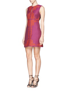 DIANE VON FURSTENBERG 'Yvette' felt embroidery dress