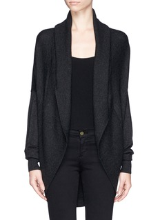 VINCE Wool-cashmere cocoon cardigan