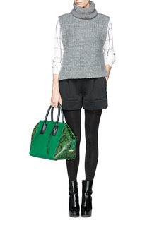 STELLA MCCARTNEY 'Cavendish' small faux python leather tote bag