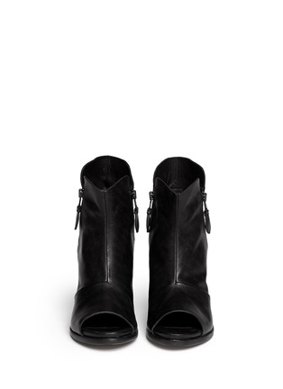 Figure View - Click To Enlarge - rag & bone - 'Noelle' peep toe leather boots