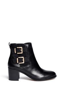 SAM EDELMAN'Jodie' leather buckle boots