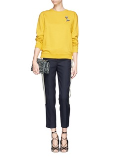 J. CREWCollection cropped tuxedo pant