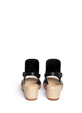 Back View - Click To Enlarge - rag & bone - 'Sayre II' slingback espadrille wedge sandals