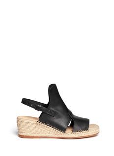 RAG & BONE'Sayre II' slingback espadrille wedge sandals