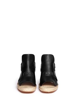 Figure View - Click To Enlarge - rag & bone - 'Sayre II' slingback espadrille wedge sandals