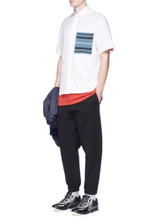 OAMC Rib trim back sweatpants