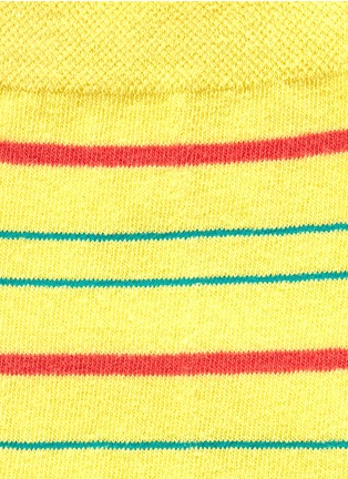 Detail View - Click To Enlarge - HANSEL FROM BASEL - 'Multistripe' crew socks
