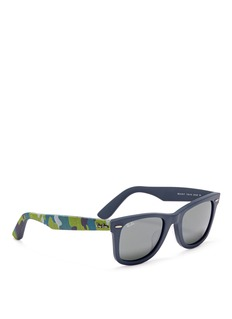 RAY-BAN'Original Wayfarer Urban Camouflage' print sunglasses