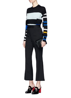 Proenza Schouler Stripe cotton blend sweater