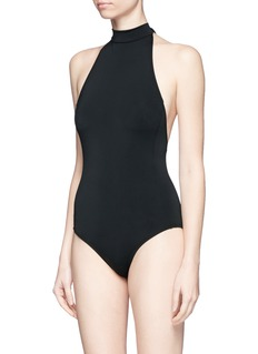 Beth Richards 'Monroe' halterneck one-piece swimsuit