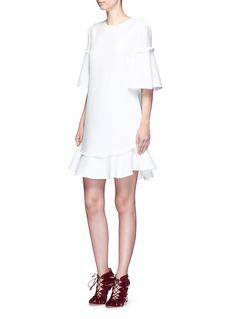 NicholasFrill trim textured dress