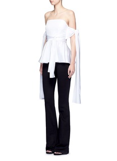 Nicholas Sash tie off-shoulder top