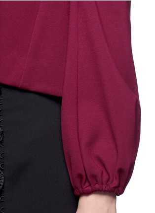 Detail View - Click To Enlarge - Nicholas - Detachable sleeve off-shoulder top