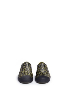 Native 'Jefferson' animal print perforated toddler slip-ons