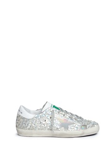 Golden Goose 'Jelly Diamond' iridescent rubber sneakers